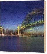 City-art Sydney Wood Print