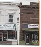 City Bakery In Clare Michigan Wood Print