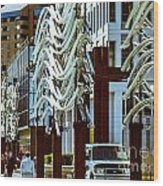 City Center-11 Wood Print