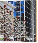 City Center-27 Wood Print