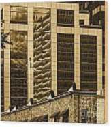 City Center -65 Wood Print