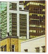 City Center-74 Wood Print