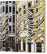 City Center-8 Wood Print