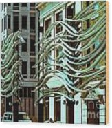 City Center-9 Wood Print
