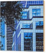 City Center-96 Wood Print