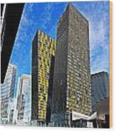 City Center Place Wood Print