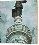 City Hall Billy Wood Print