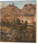City Hall - Capetown 1917 Wood Print