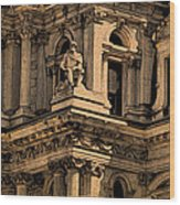 City Hall Closeup Wood Print