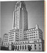 City Hall. Wood Print