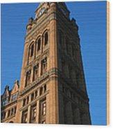 City Hall - Milwaukee Wood Print