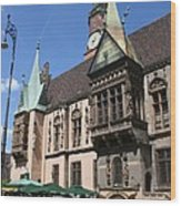City Hall Wroclaw Wood Print