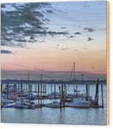 City Island Wood Print