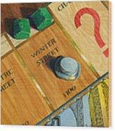 City Island Monopoly Iv Wood Print