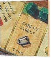 City Island Monopoly Vii Wood Print