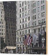 City Life - New York City Wood Print
