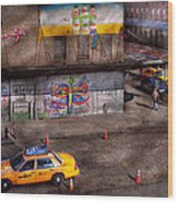 City - New York - Greenwich Village - Life's Color Wood Print