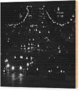 City Nights Wood Print