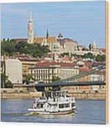 City Of Budapest Wood Print