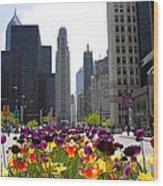 City Of Color Wood Print