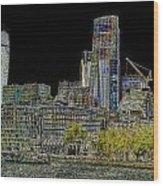 City Of London Art Wood Print
