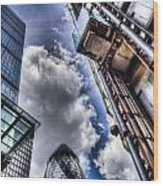 City Of London Iconic Buildings Wood Print