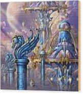 City Of Swords Wood Print