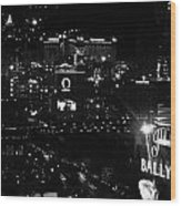 City Of Vegas 2008 Wood Print