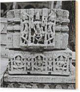 City Palace Apsara Dancers Wood Print