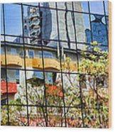 City Reflections By Diana Sainz Wood Print