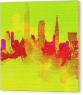 City Vibe Wood Print