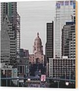 Cityscape 28 B Austin Wood Print