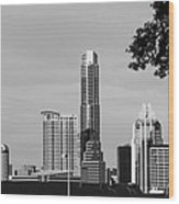 Cityscape 28 C Austin Wood Print