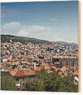 Cityscape Of Sibenik Croatia Wood Print