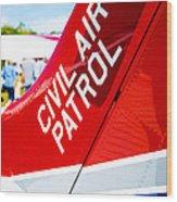 Civil Air Patrol Wood Print