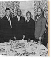 Civil Rights Leaders, 1963 Wood Print