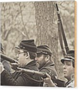Civil War 3 Wood Print