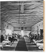 Civil War: Hospital, 1865 Wood Print