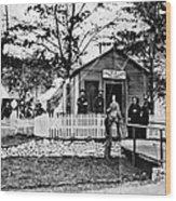 Civil War: Military Hospital Wood Print