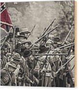 Civil War South  Wood Print