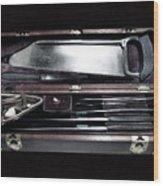 Civil War Surgical Kit Wood Print