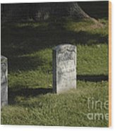 Civil War Unknown Dead Wood Print