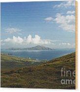 Clare Island Connemara Ireland Wood Print