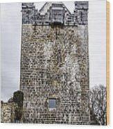 Claregalway Castle - Ireland Wood Print