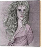 Clarise II Wood Print