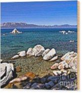 Clarity - Lake Tahoe Wood Print