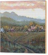 Clark County Farm Wood Print