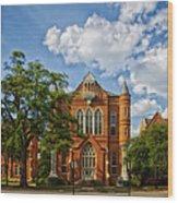 Clark Hall - University Of Alabama Wood Print