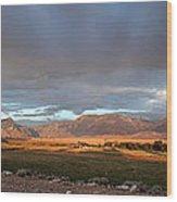Clarks Fork Rainbow Wood Print
