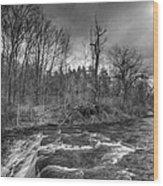Clarksburg Falls 1833 Wood Print